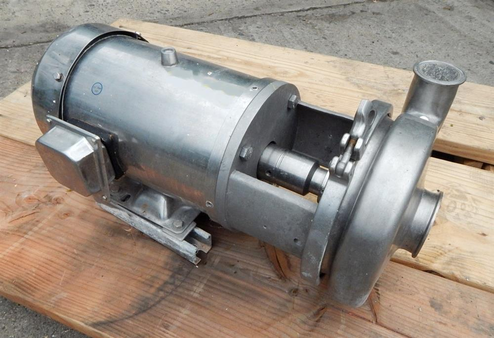 Image AMPCO Food Grade Centrifugal Pump - 316 Stainless Steel 1492537