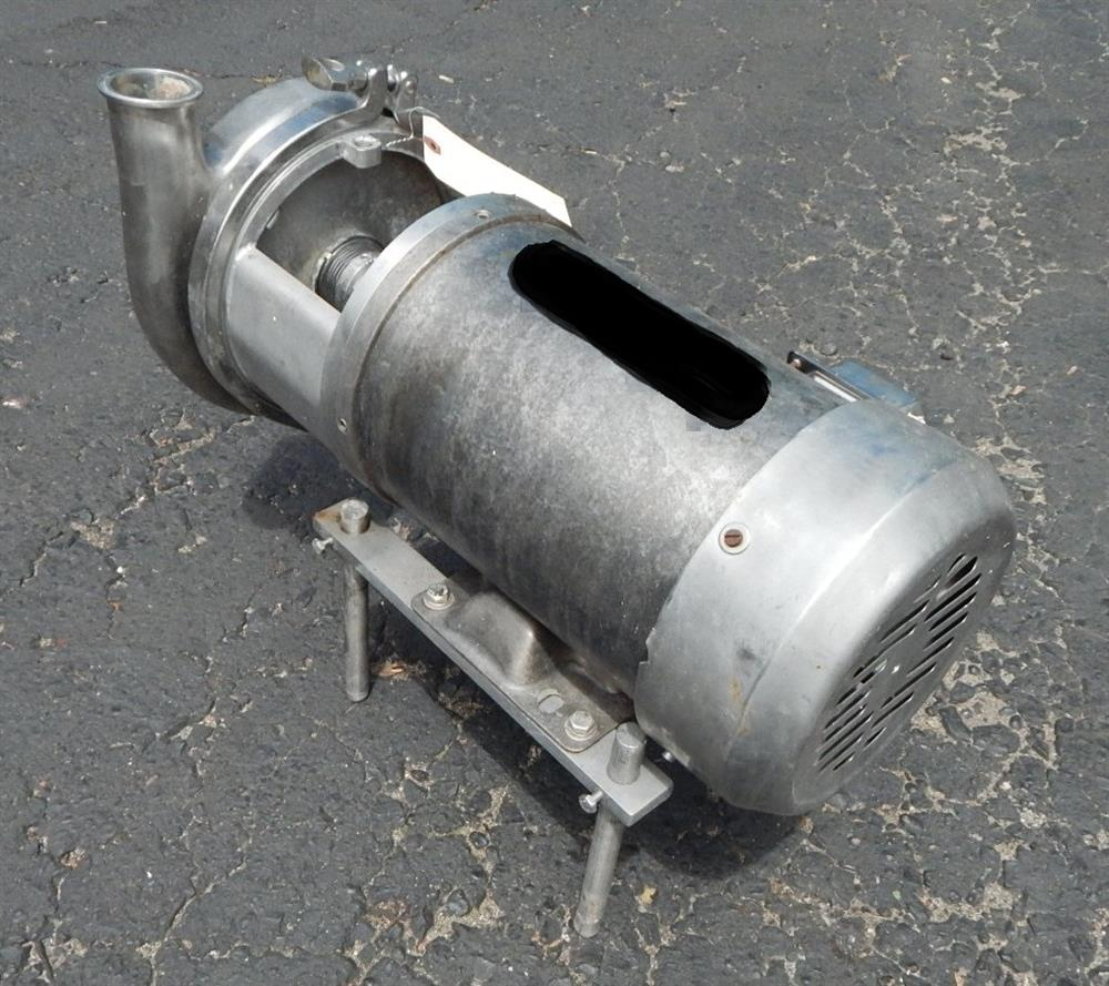 Image Food Grade Centrifugal Pump - 316 Stainless Steel 1492545