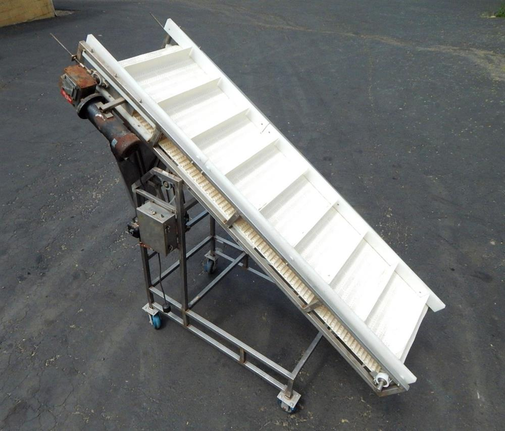 Image Inclined Food Grade Conveyor 1492560