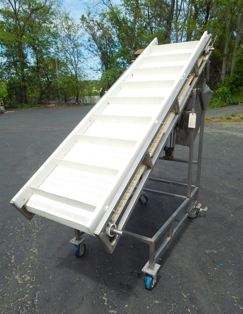 Image Inclined Food Grade Conveyor 1492562