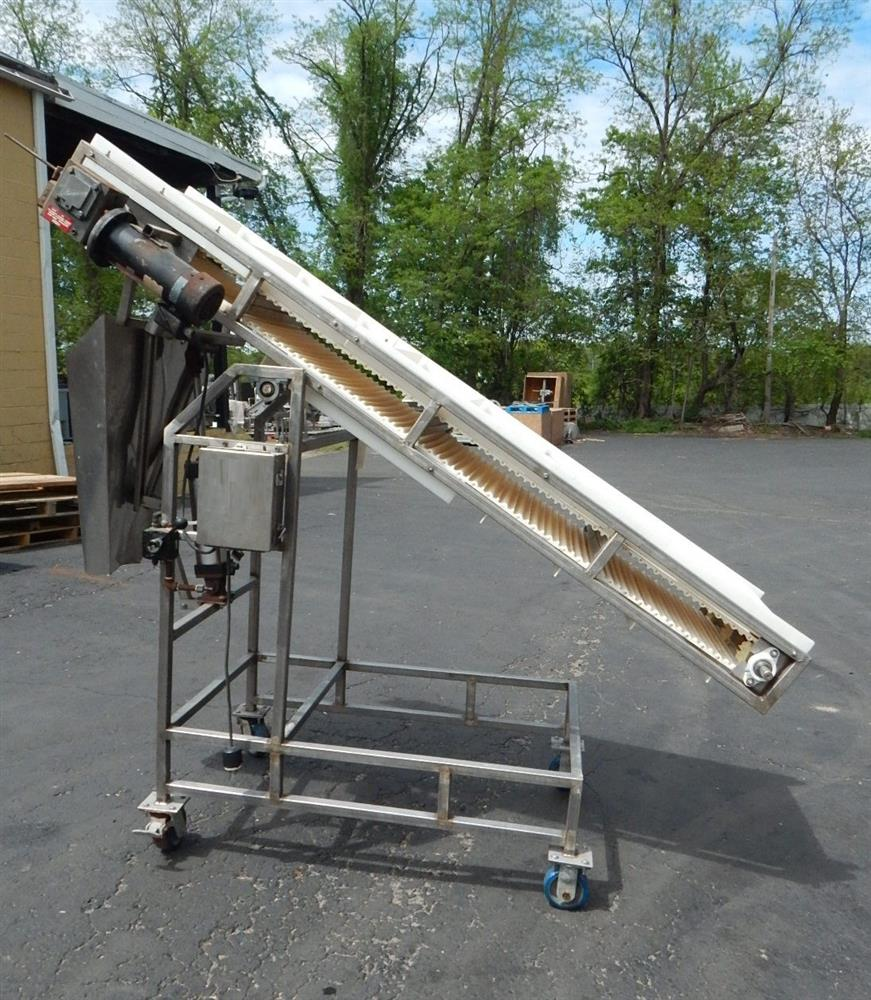 Image Inclined Food Grade Conveyor 1492565