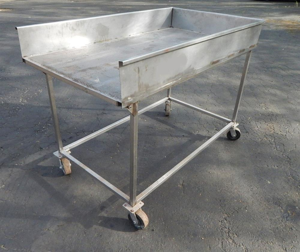 Image Tilting Wash Table - Stainless Steel 1492593