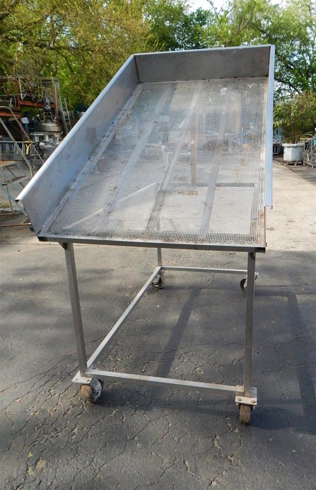 Image Tilting Wash Table - Stainless Steel 1492597