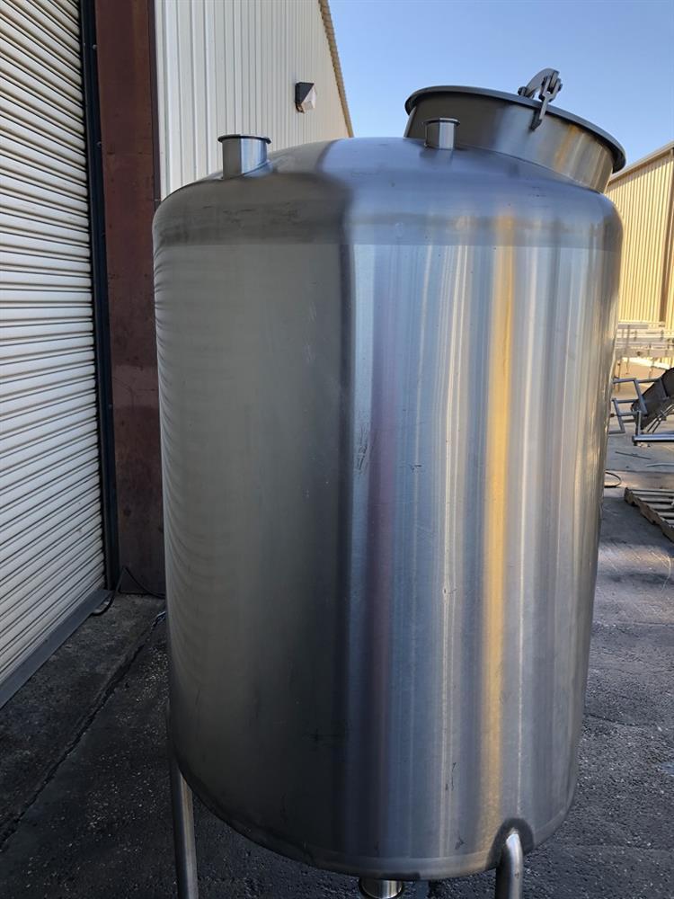 Image 200 Gallon TSI CIP Tank - Stainless Steel 1492865