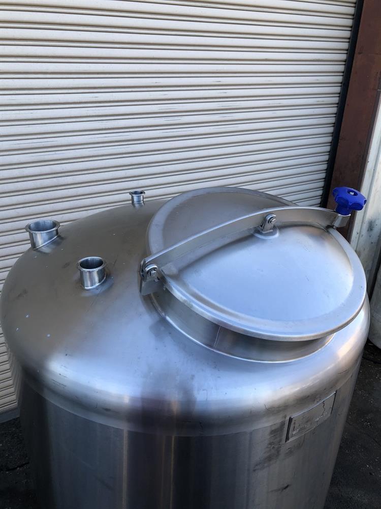 Image 200 Gallon TSI CIP Tank - Stainless Steel 1492868