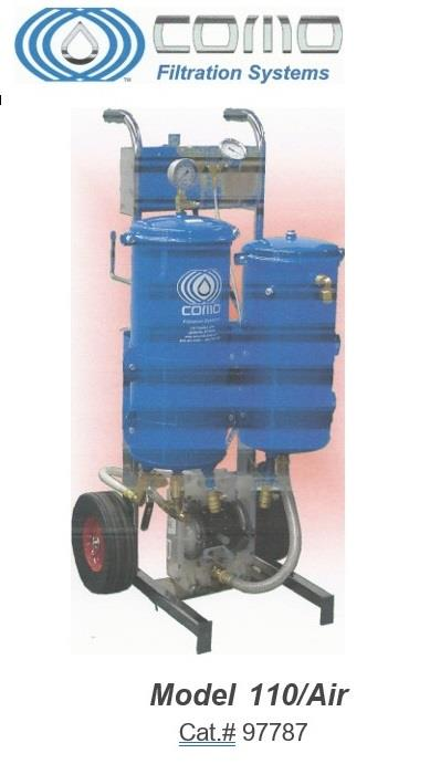 Image COMO FILTRATION SYSTEMS 110/AIR for Machine Coolant 1492942