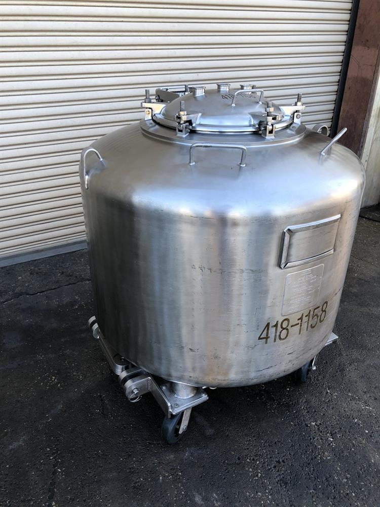 Image 720 Liter DCI Pressure Rated Tank - Stainless Steel 1492969