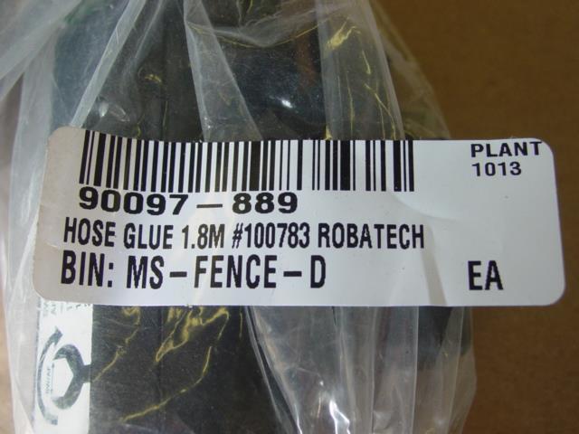 Image ROBATECH 100783 / KRONES 1.8 Meter Hot Melt Hose New 1492984