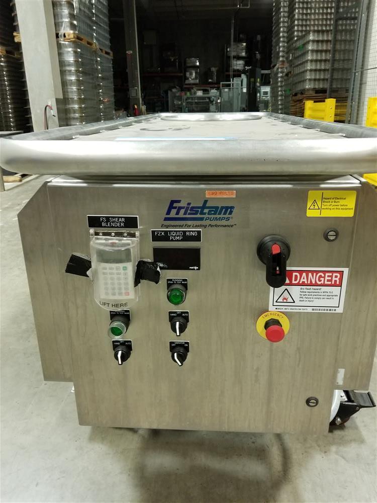 Image FRISTAM PUMPS Mixer Liquid Triblender - Model 20-53 1492994