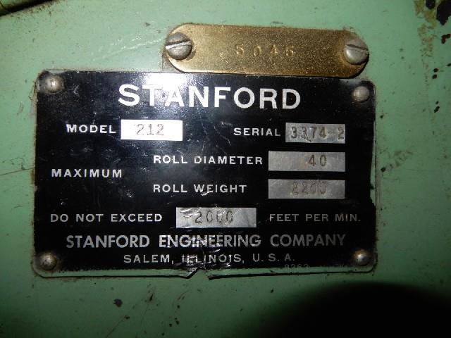 Image 40in Wide STANFORD Slitter Rewinder 1495359