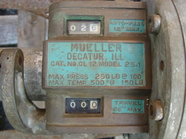 Image MUELLER CL-12 Drilling Machine / Hot Tapping with Adapters and Cutters 1495467