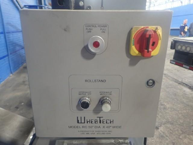 Image 60in WHEBTECH Shaftless Floor Pick Up Unwind Stand 1495523