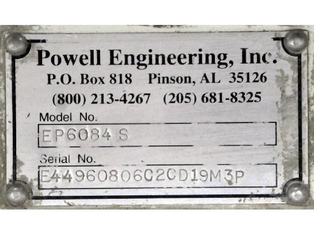 Image 84in POWELL Shaftless Roll Lift Unwind Stand 1495543