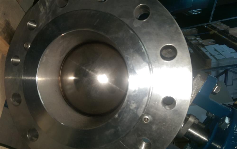 Image 6in DEZURIK VPB V-Port Ball Valve w/Diaphragm Actuator & HART Positioner - New Surplus 1495592
