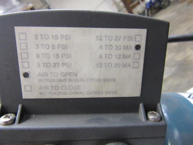 Image 6in DEZURIK VPB V-Port Ball Valve w/Diaphragm Actuator & HART Positioner - New Surplus 1495597