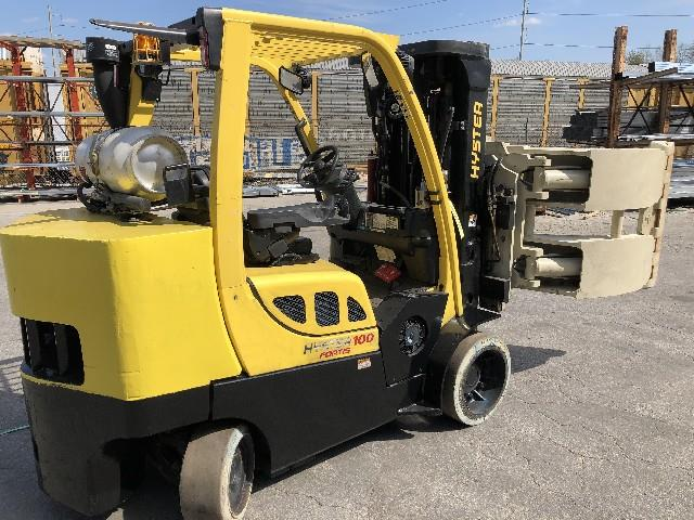 Image HYSTER Forklift with 60in Cascade Roll Clamp 1495644
