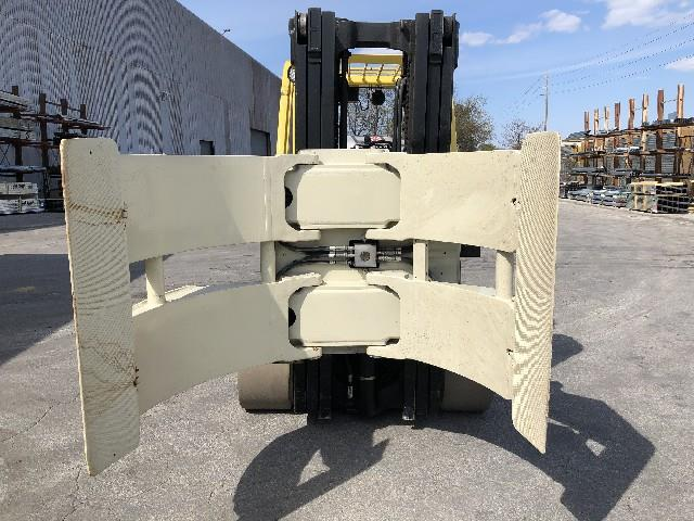 Image HYSTER Forklift with 60in Cascade Roll Clamp 1495645