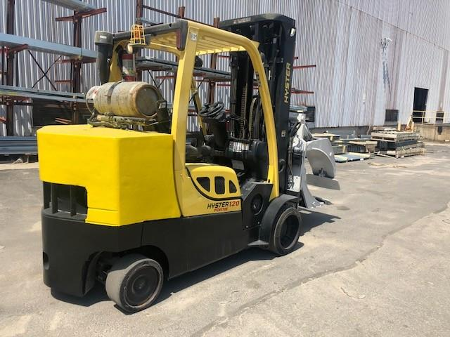 Image HYSTER Roll Clamp Truck 1495652