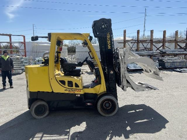 Image HYSTER Paper Roll Clamp Truck 1495660