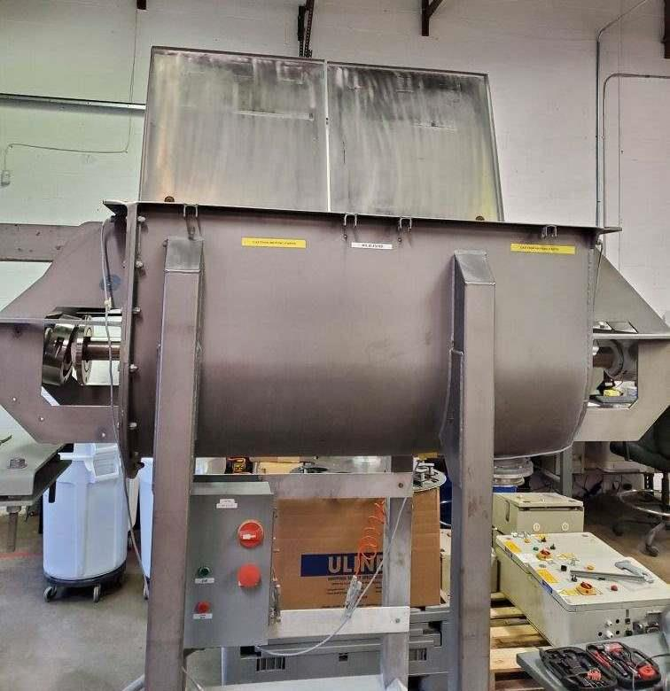 Image 10 Cu. Ft. HAYES & STOLZ Ribbon Blender - Sanitary Stainless Steel  1495718