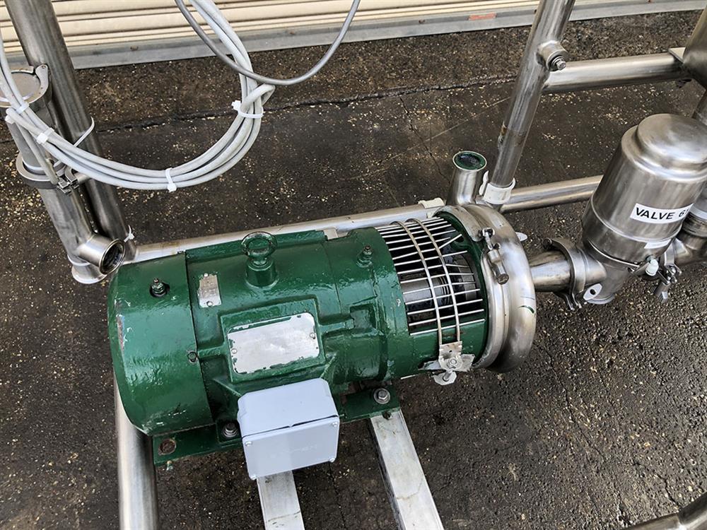 Image 140 Gallon PROCESS AUTOMATION Single Tank CIP System 1495846