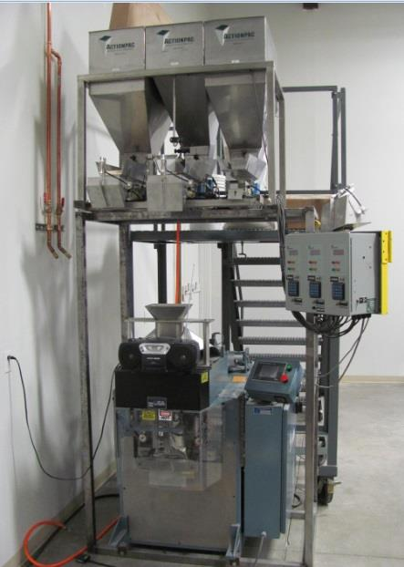 Image PREMIER PACKAGING SYSTEMS Mark 12 Form, Fill and Seal Machine with ACTION PAC 901 Weigh Filler 1497877