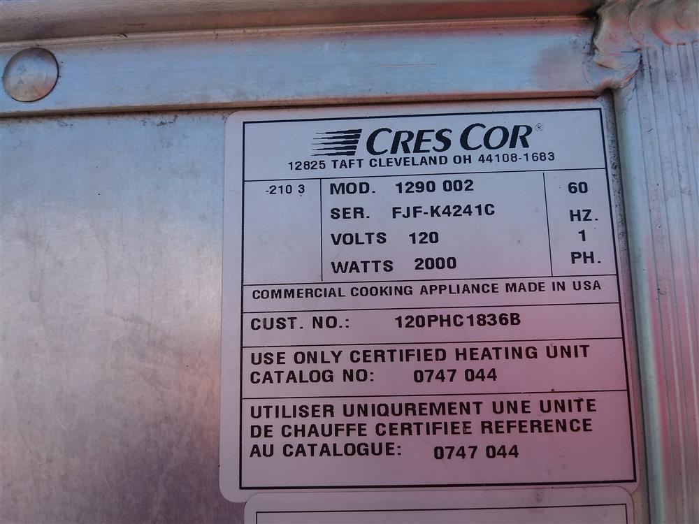Image CRES-COR Proofer Holding Cabinet 1499177