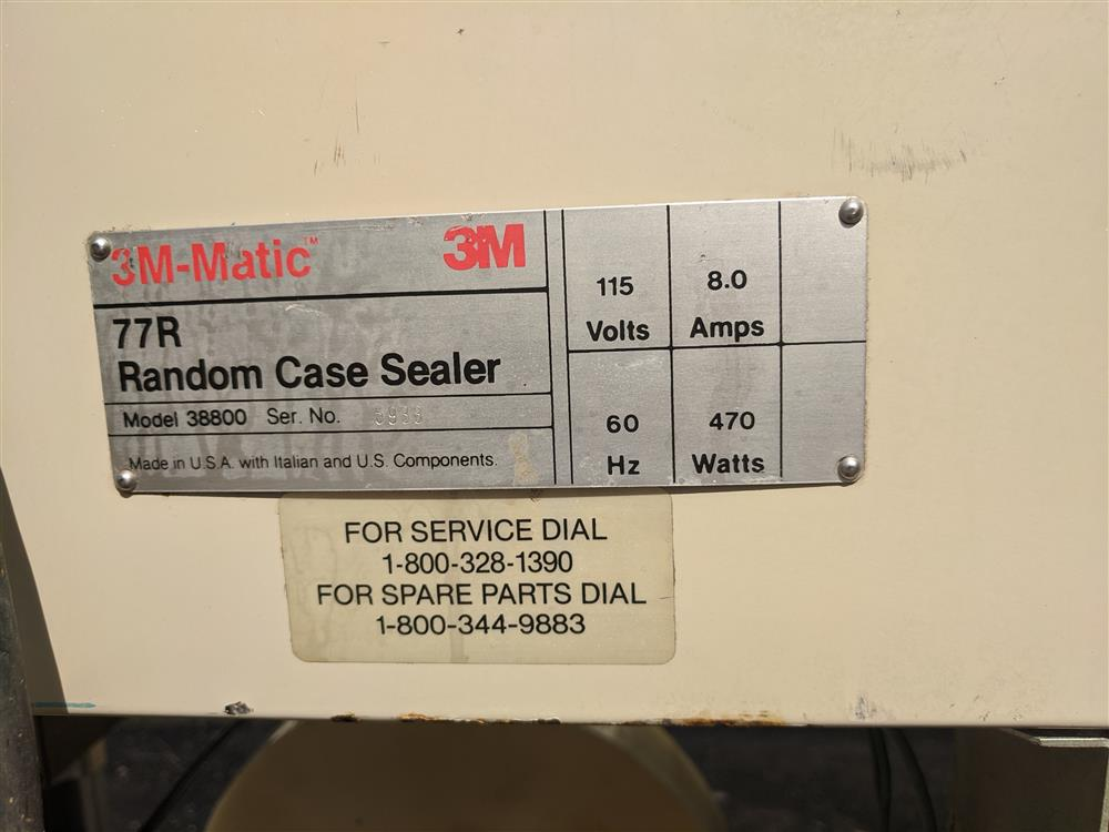 Image 3M-MATIC Random 2 in Top and Bottom Case Sealer 1499192