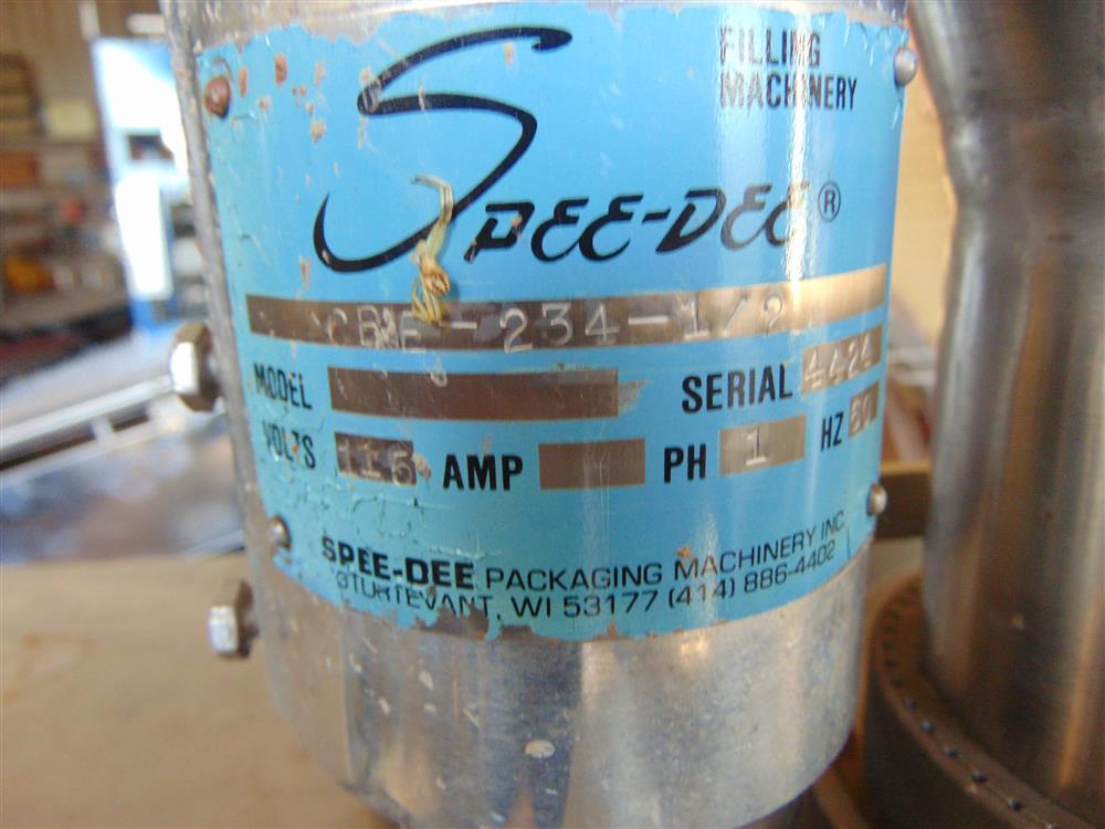 Image SPEE-DEE Auger Powder Bottle Filler 1499278