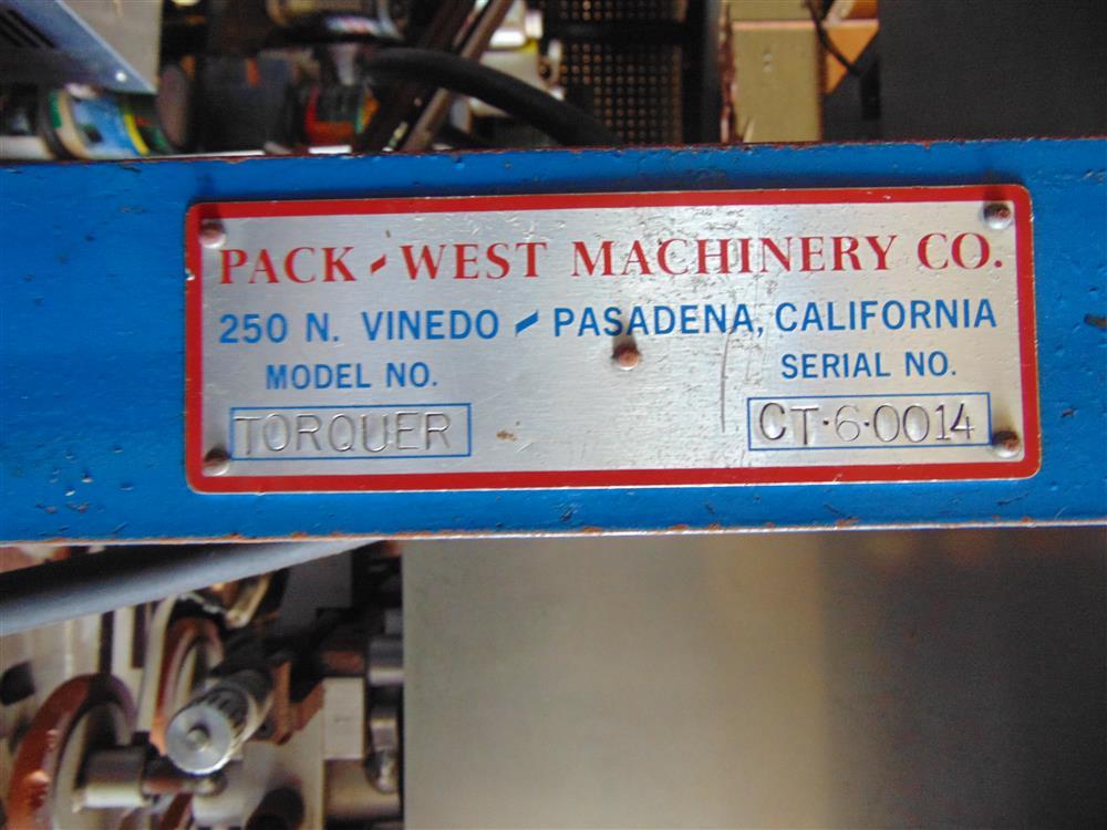 Image PACK-WEST Torquer Auto Capper 1499283