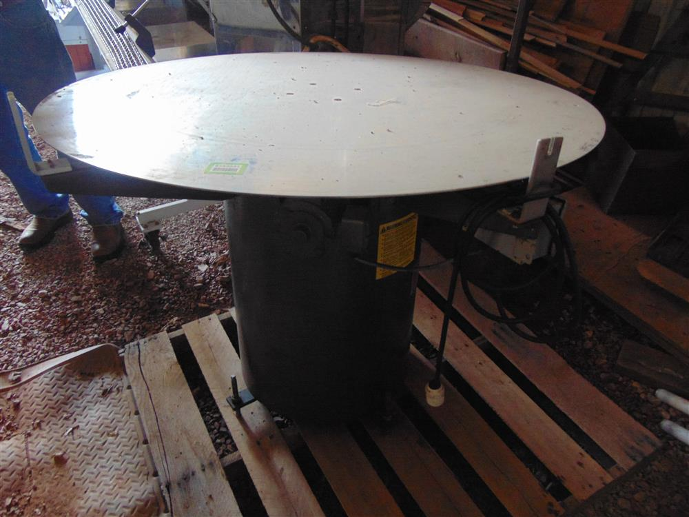 Image Stainless Steel Bottling Accumulation Table 1499301