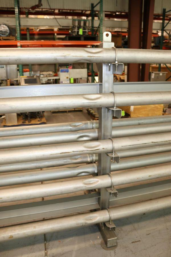 Image FRANRICA 14-Pass Dimpled Tube in Tube Heat Exchanger - Pasteurizer from Food Plant 1499357