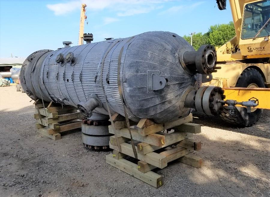 Image 900 Gallon 2100 PSI 316L Stainless Steel High Pressure Vessel 1499362