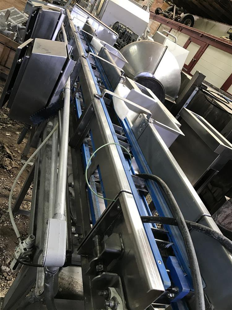 Image WEIGHTECH mircoWeigh Check Weigher Scale System Conveyor with New Belts and Bucket 1500229