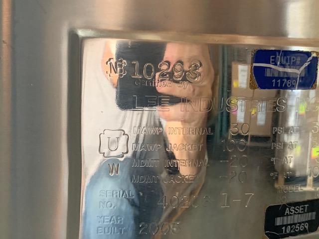 Image 100 Liter LEE 1001 1u Jacketed Vacuum Kettle 1500872