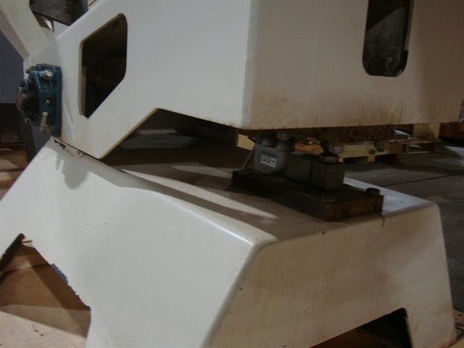 Image 48in Dia. Grossing Coating Pan - Stainless Steel 1500905