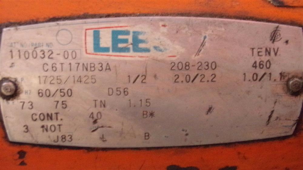 Image BUSHMAN M5066 Motorized Roll Lifter - 4000 Lb. Capacity 1501101