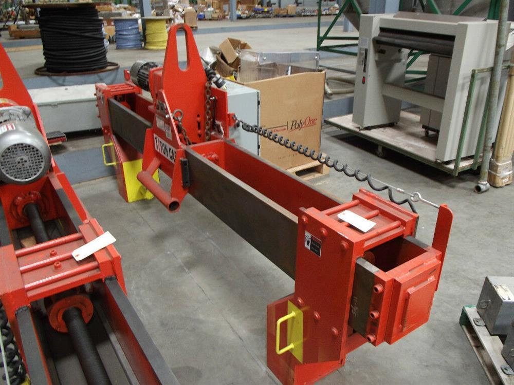Image BUSHMAN M2028 Roll Hoist Motorized Roll Lifter 1501119