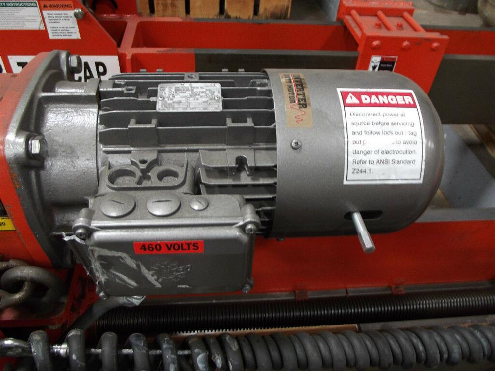 Image BUSHMAN M2028 Roll Hoist Motorized Roll Lifter 1501124