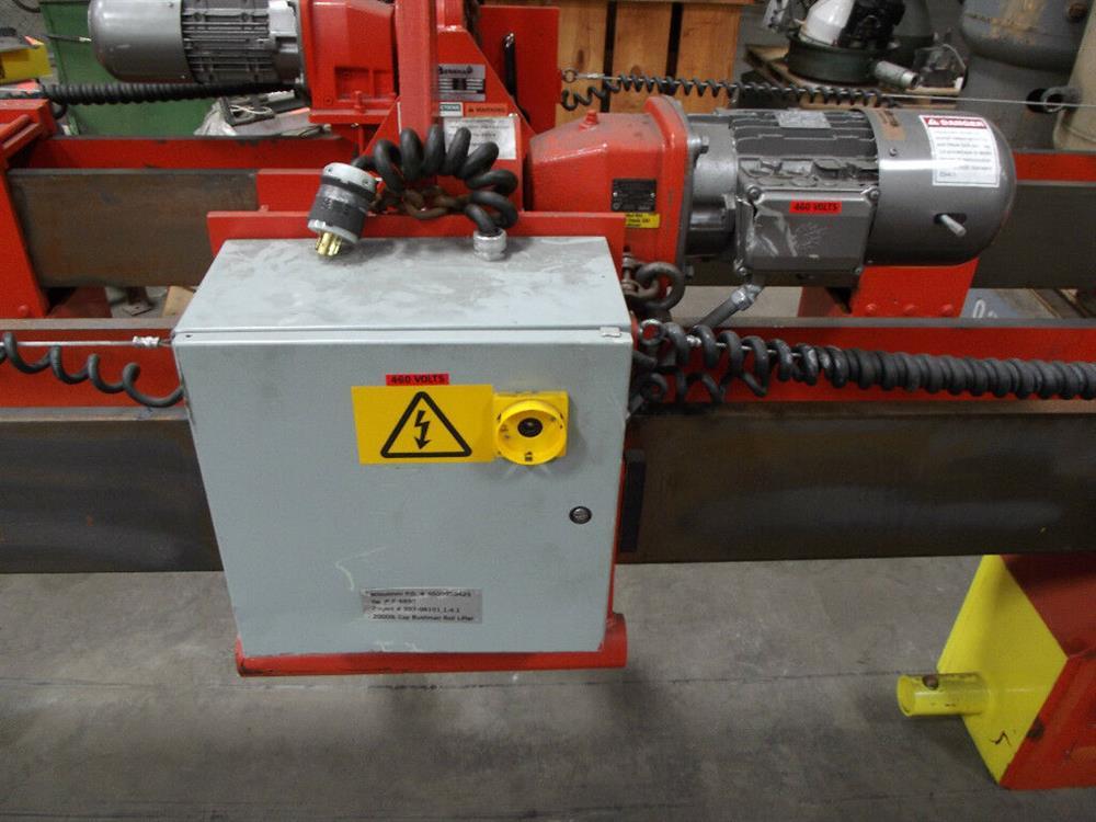Image BUSHMAN M2028 Roll Hoist Motorized Roll Lifter 1501125