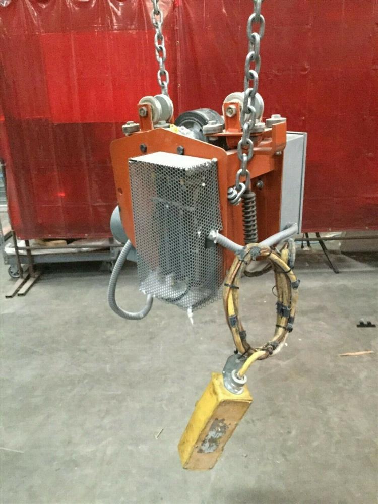 Image 1 Ton TC AMERICAN MONORAIL Trolley Electric Hoist 1501266