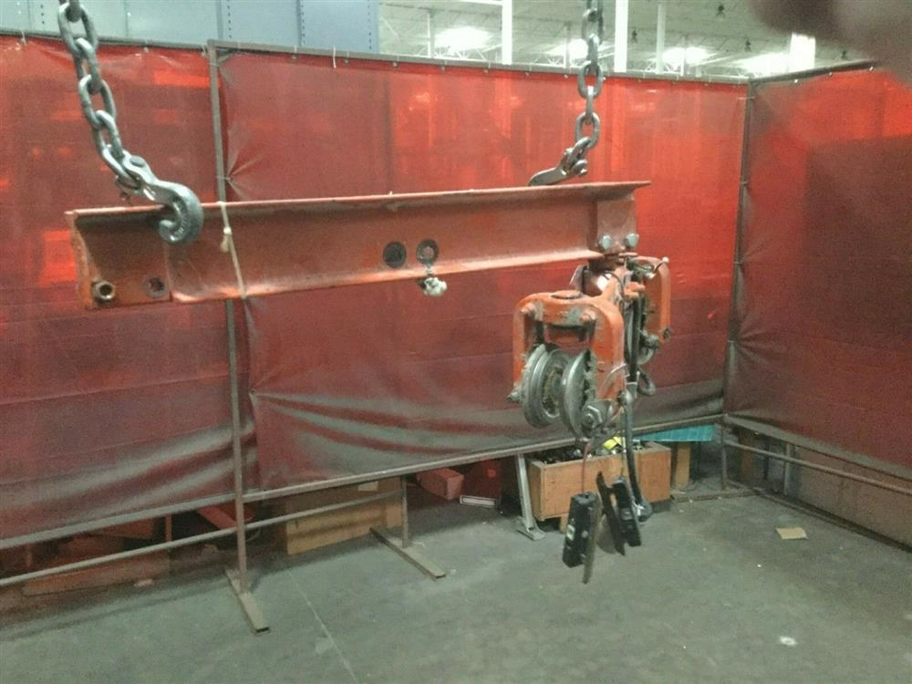 Image 1 Ton TC AMERICAN MONORAIL Trolley Electric Hoist 1501269