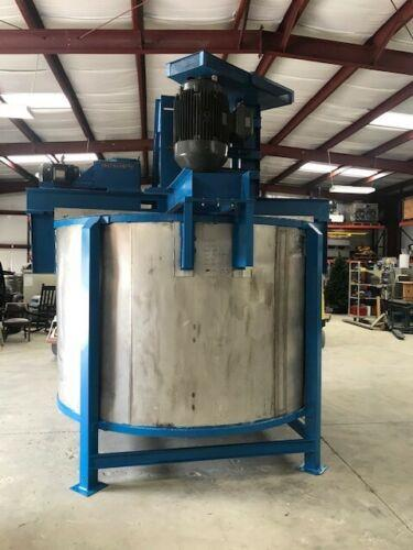Image 2000 Gallon Mix Tank with EX Proof Dual Disperser Shear and Turbine Mix  1502331