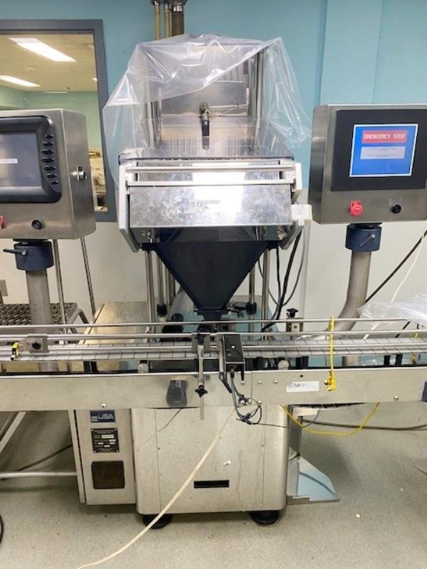 Image Complete Bottle Filling Line for Solid Doses 1502912