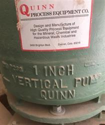 Image QUINN PROCESS EQUIPMENT COMPANY Vertical Sand Pump 1507111