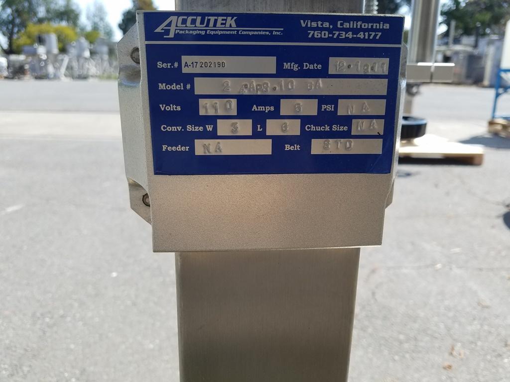 Image ACCUTEK Labelette 24 APS 106A Wrap Around Pressure Sensitive Labeler 1507680