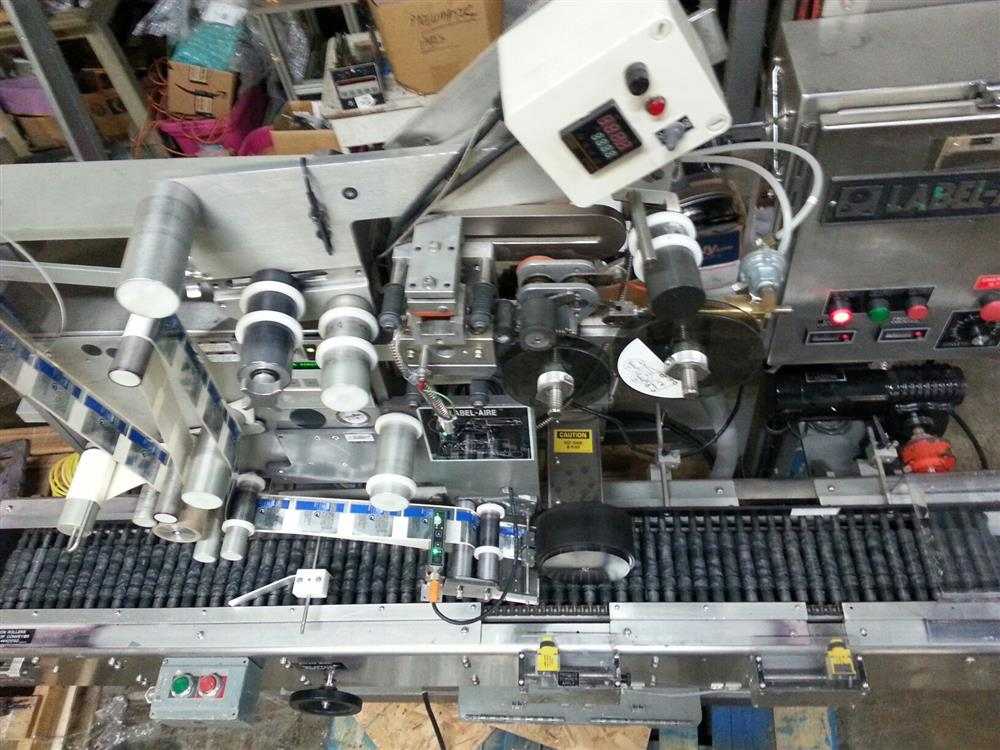 Image LABEL-AIRE 2111 Wrap Labeler for Small Bottles 1508234