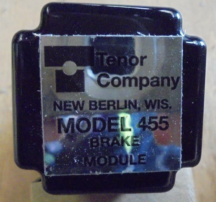 Image TENOR COMPANY Programmer and Drive Control Unit 1508421