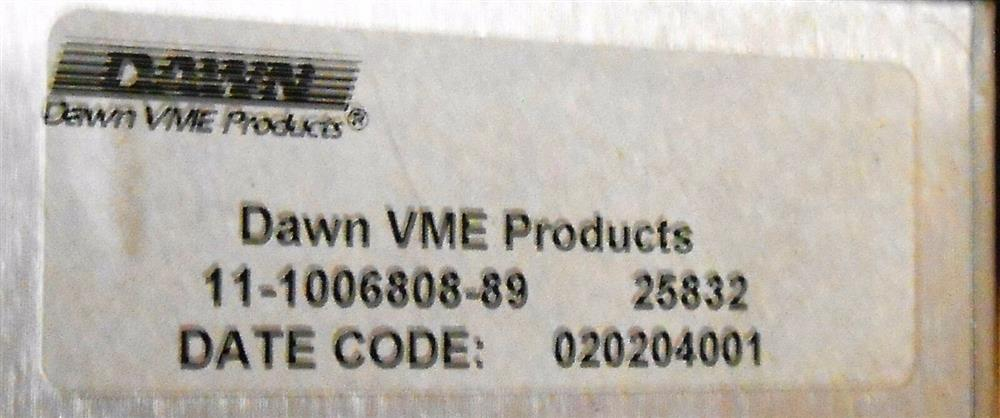 Image DAWN VME PRODUCTS Chassis 1508441