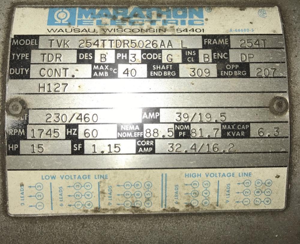 Image 15 HP INGERSOLL RAND Dual 3 Stage Vacuum Pump 1508489